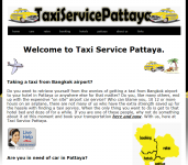 TAXI to PATTAYA with private car 1200 bath!!Thumbnail